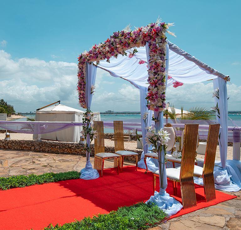 Oceanfront Dar es Salaam Wedding Venues